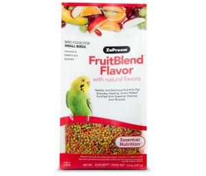 Zupreem Fruit Budgie pellet Food 397g
