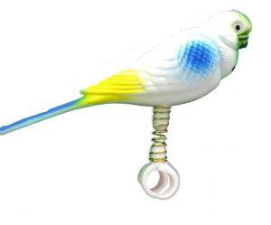 Birdie Buddy Plastic Companion On Spring