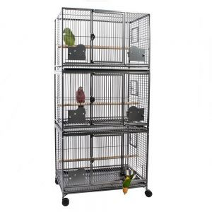 Rainforest Grande Large Triple Stacker Bird Cage