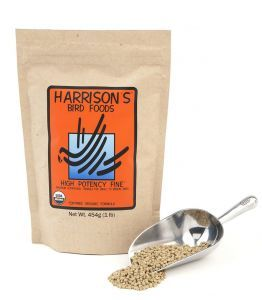 Harrison`s High Potency Fine 1lb - Organic Bird Food 453g