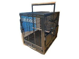 Safari Bird Travel Cage Antique