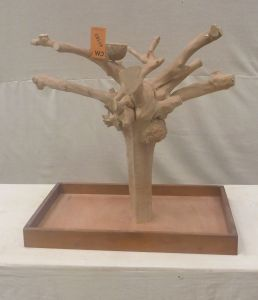 MINI JAVA TABLETOP TREE - MEDIUM - NATURAL HARDWOOD PARROT STAND M41183