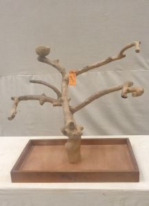 MINI JAVA TABLETOP TREE - MEDIUM - NATURAL HARDWOOD PARROT STAND M41211
