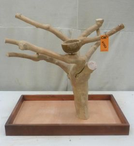 MINI JAVA TABLETOP TREE - MEDIUM - NATURAL HARDWOOD PARROT STAND M41502
