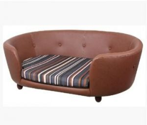 Chester & Wells Kensington Large Brown Dog Bed