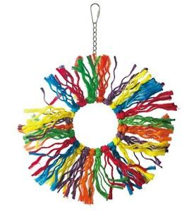 Pluckers Ring Small Sisal Rope Bird Toy
