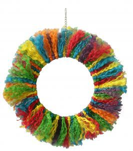 Pluckers Ring Large Rope Bird Toy