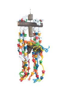 Wood & Rope Delight Large Bird Toy