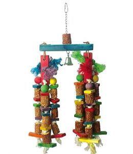 Twin Corn Large Bird Toy