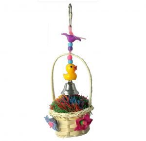 Spring Basket Small Bird Toy
