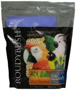 Roudybush Low Fat Small Bird Pellet 25lb