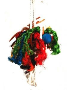 Messy Mop Rope Bird Toy