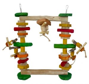 Munchy Swinger Java Swing - Large Parrot