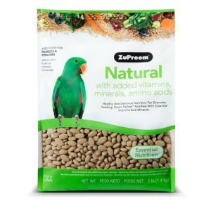 Zupreem Natural Medium/Large Bird Pellet 3lb