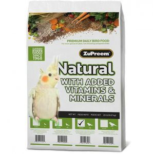 ZuPreem Natural Medium Cockatiel Pellet Food 20lb