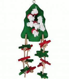 Birdie Christmas Tree Wood Toy