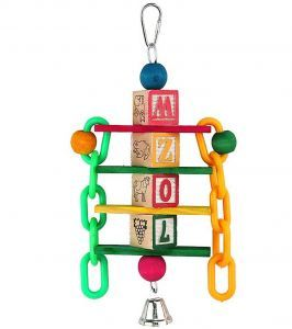 ABC Chain Toy - Wooden Blocks & Plastic Chain