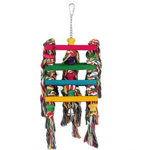 Rope Cascade Parot Toy
