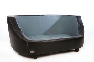 Chester & Wells Oxford I Large Black Dog Bed