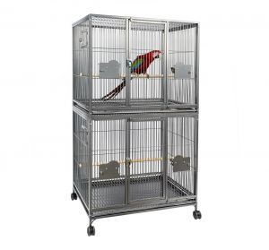 Rainforest Parrot Large Double Parrot Cage