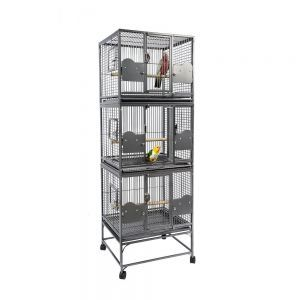 Rainforest Triple Stacker Parrot Cage