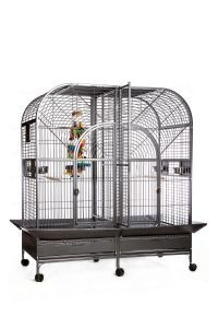 RAINFOREST CASTELLO II MINI LARGE PARROT CAGE WITH DIVIDER