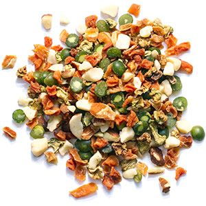 Zupreem Real Rewards Garden Mix Medium Bird 6oz