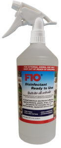 F10SC Disinfectant RTU Trigger Spray 1 Litre