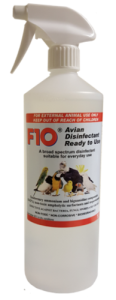 F10 Avian RTU Bird Safe Disinfectant - 1 Litre