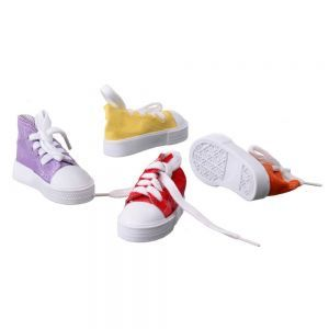 Sneaker Shoe Bird Foot Toy - Pack Of 4