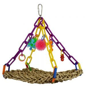 Flying Trapeze Mini - Small Bird Toy
