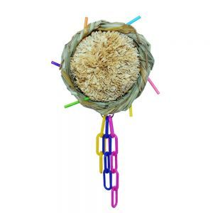 Preen And Scritch Basket - Textured Bird Toy