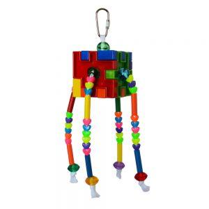 Puzzler Beads - Platic Bird Toy