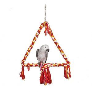 Large Bird Rope Triangle Swing