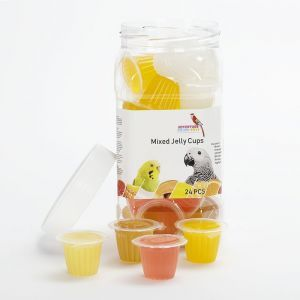 Jar Of Fruit Cup Jellies 24