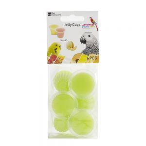 Fruit Cup Jellies Melon Bird Treat Pack 6