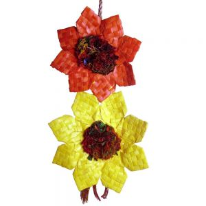 Medium Double Sunflower Shredding Bird Toy