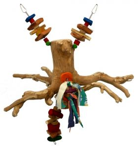 Java Swinging Root Bird Climbing Toy Medium