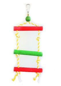 Three Step Swing Ladder - Traditional Bird Toy