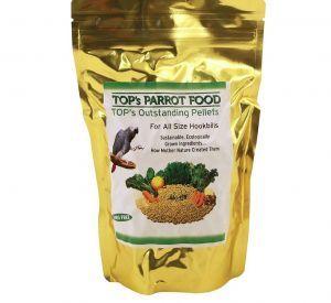 TOP`S Outstanding Pellets Natural Parrot Food - Large 1lb