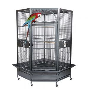 Rainforest Toronto II Large Corner Parrot Cage