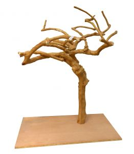 Deluxe Java Tree 0001 - Hardwood Bird Stand