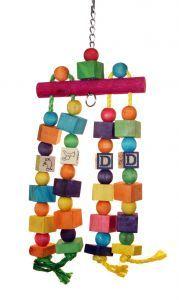 ABC Nursery Toy - Medium bird Wood Toy