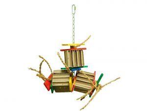 Zoo Max Shoopa Shred Medium Bird Toy