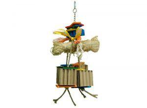 Zoo Max Raffy Large Shredding Bird Toy