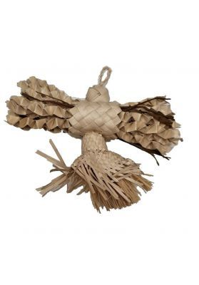 Snowflake Natural Shredding Bird Toy