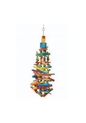 Skyscraper Huge wooden bird toy